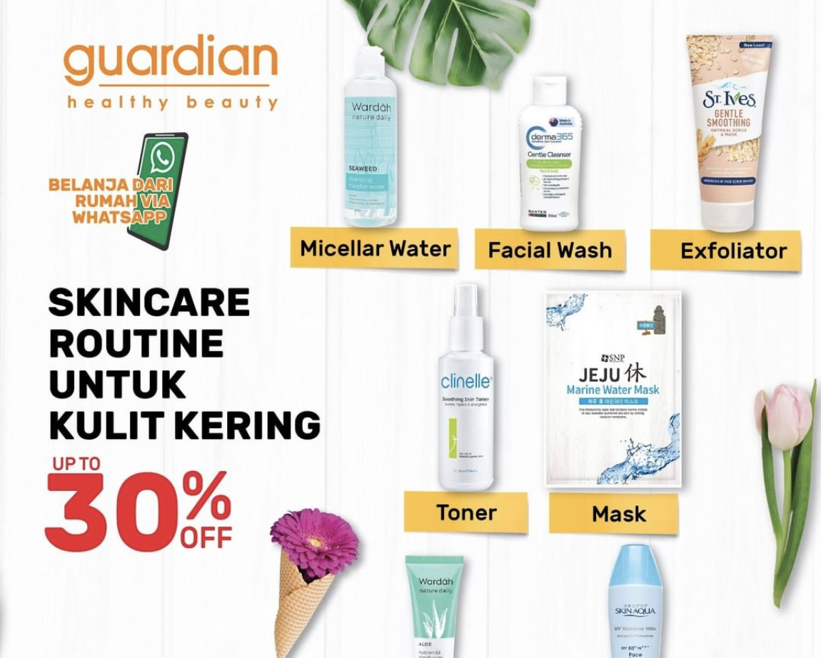 UP TO 30% OFF SKINCARE ROUTINE!