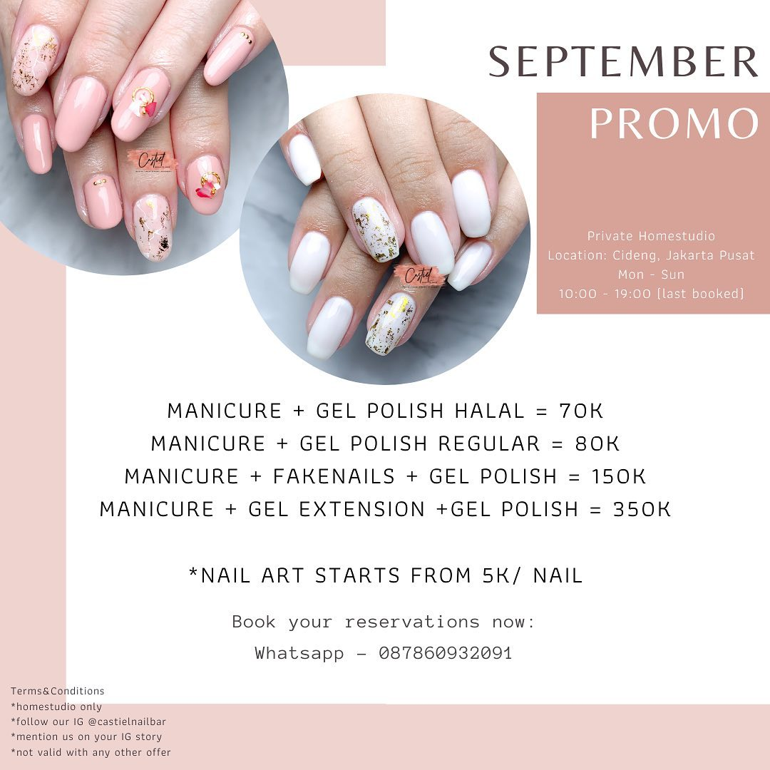 SEPTEMBER PROMO! Manicure and More