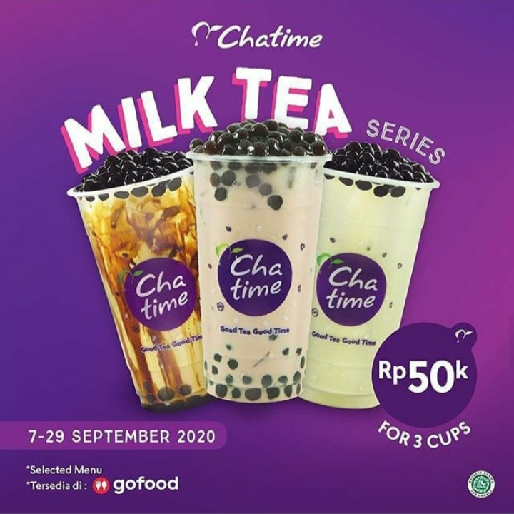 Chattime Milk Tea Series
