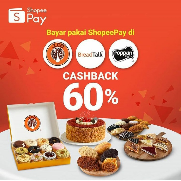 Shopee Pay 60% OFF
