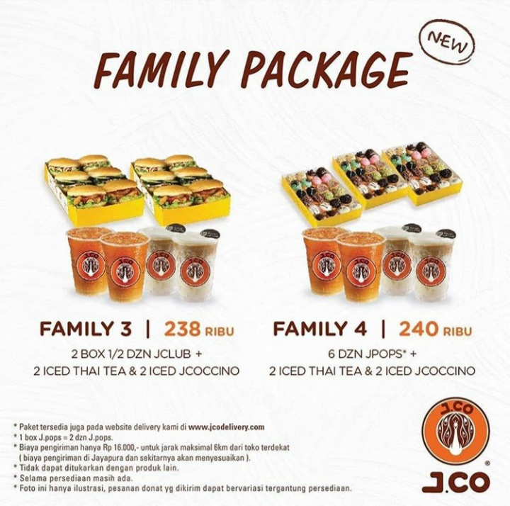 J.CO Family Package
