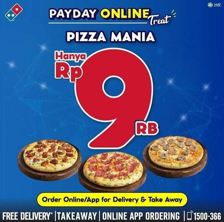 DOMINO'S PIZZA CUMAN 9RB??
