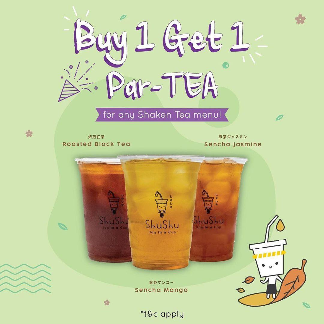 Buy 1 Get 1 PAR-TEA!