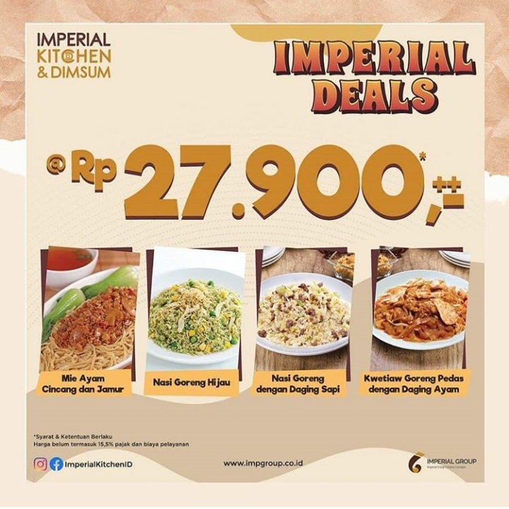 IMPERIAL DEALS IS BACK!