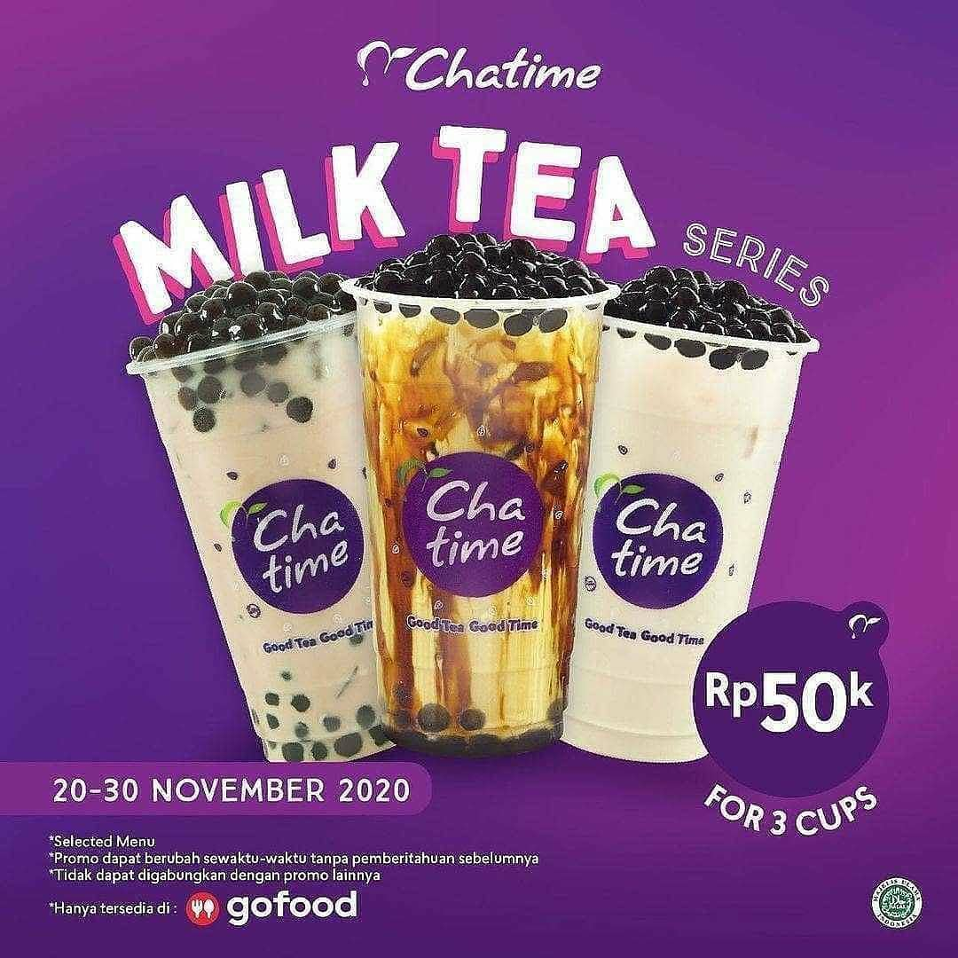 MILK TEA SERIES 50K FOR 3 CUP!