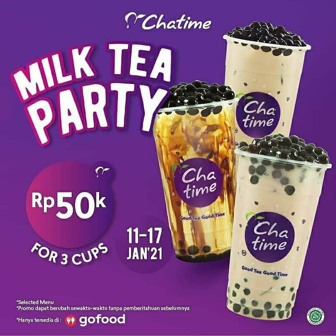 MILK TEA PARTY! 50K FOR 3 CUPS