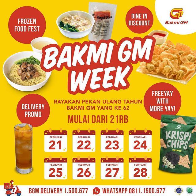 Bakmi GM Week