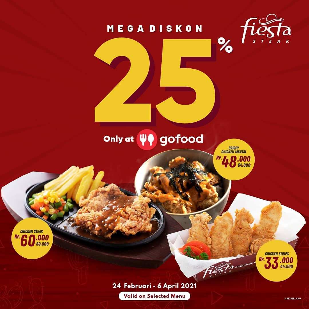 25% Off with GoFood