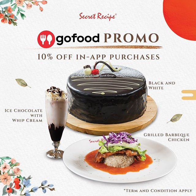 10% Off wit Gofood