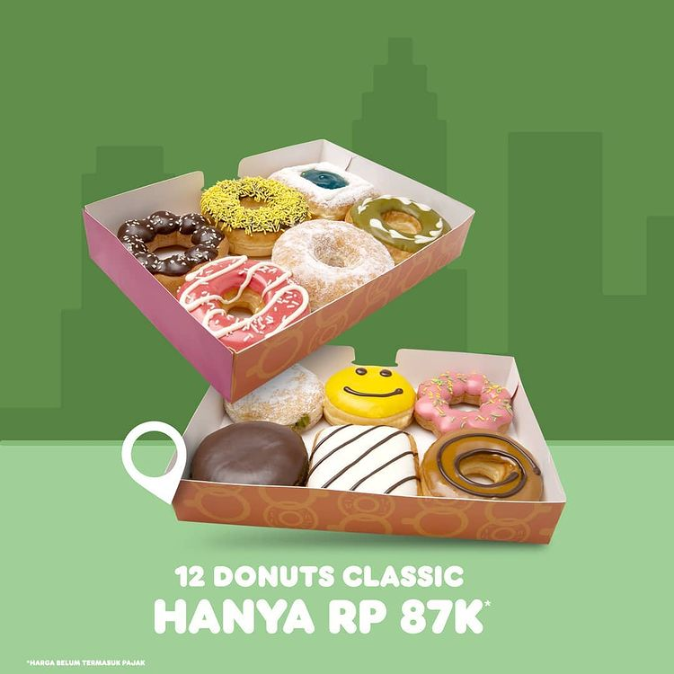 12 Donuts Classic only 87K