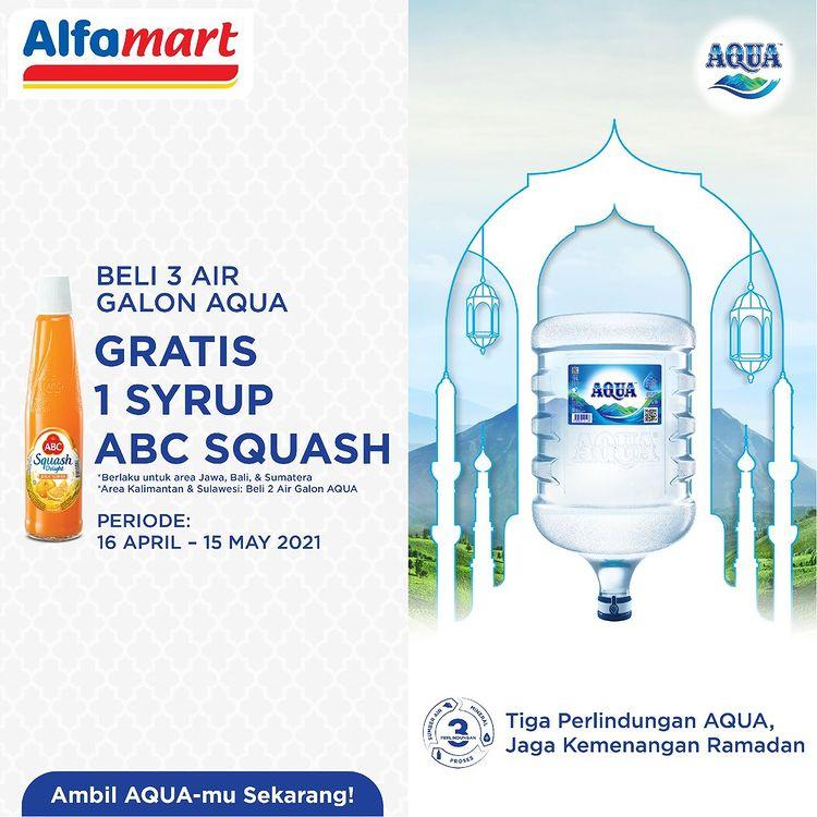 Gratis 1 Syrup ABC Squash