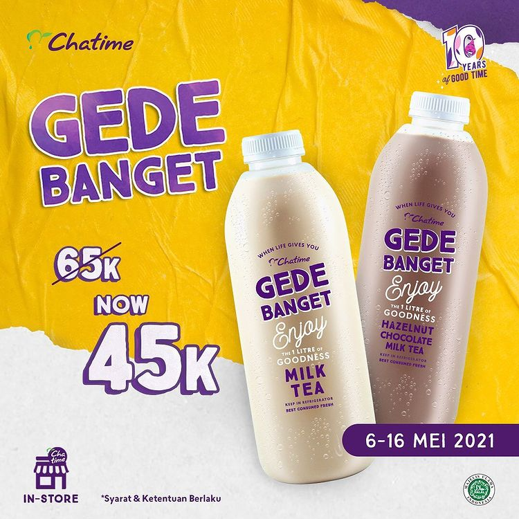 Chatime Gede Banget 45K