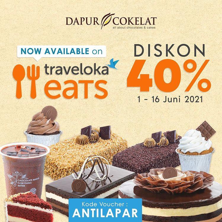 40% OFF with Traveloka Eats