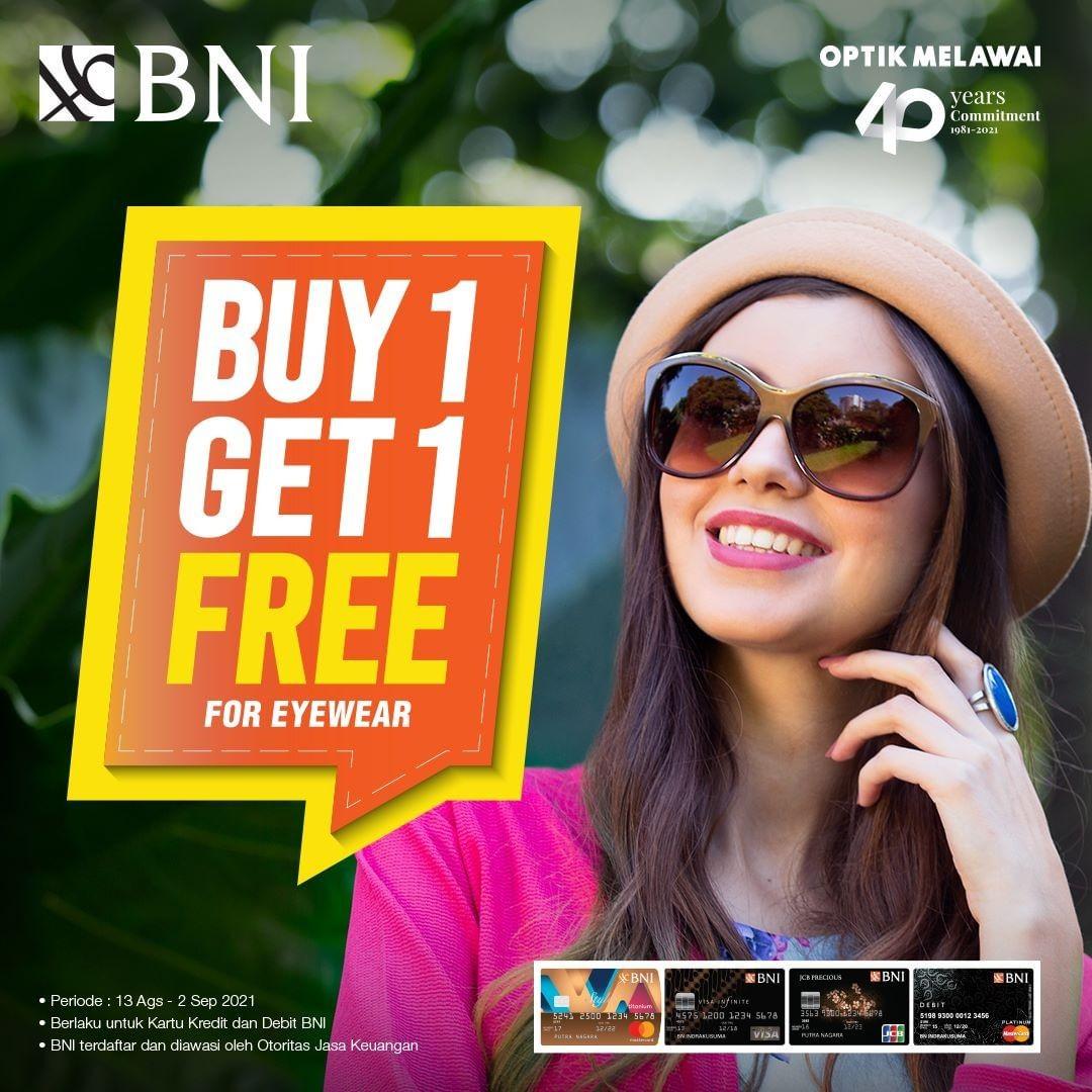 Buy 1 Get 1 Free Eyewear