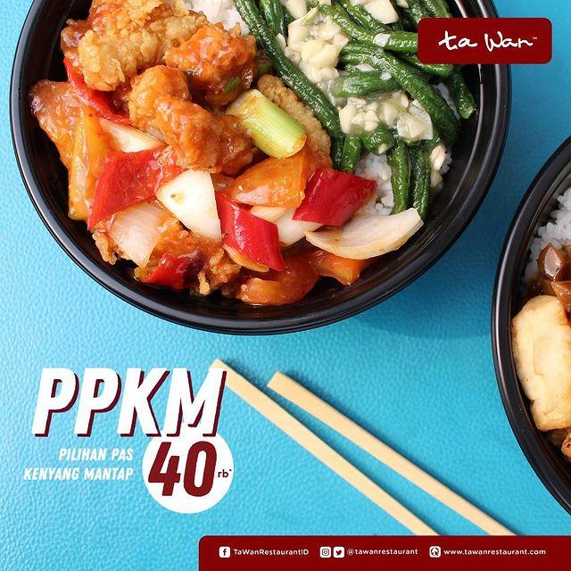 Promo PPKM 40K