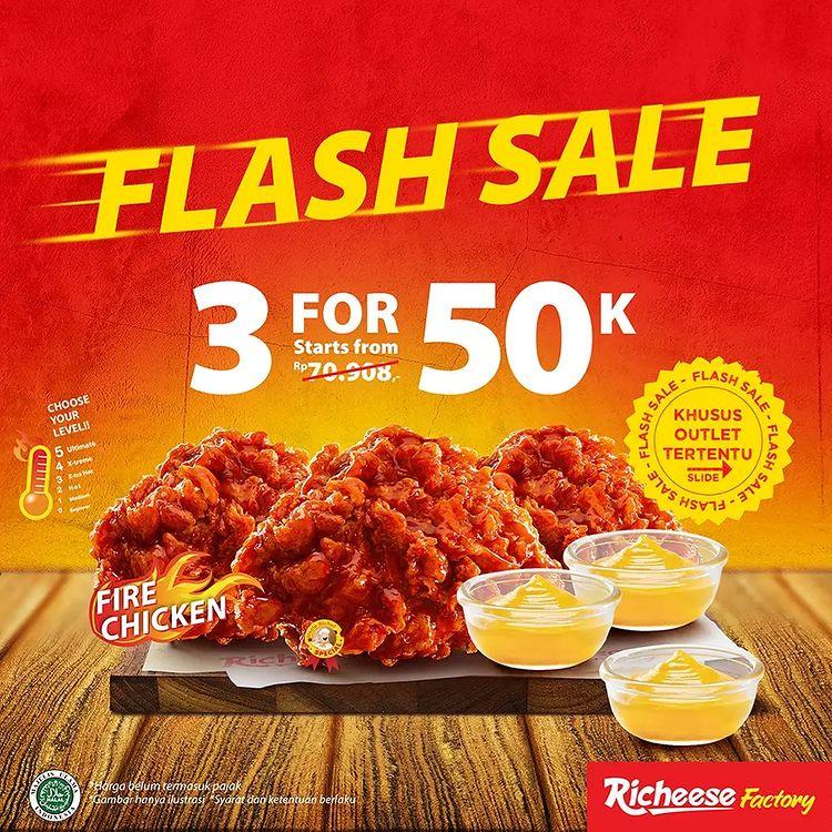 Flash Sale 3 for 50K tiap Weekend