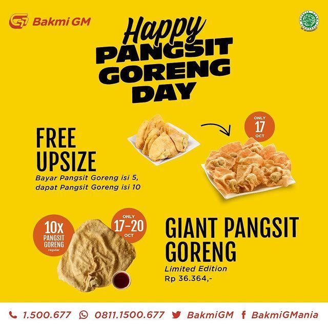 Happy Pangsit Goreng Day