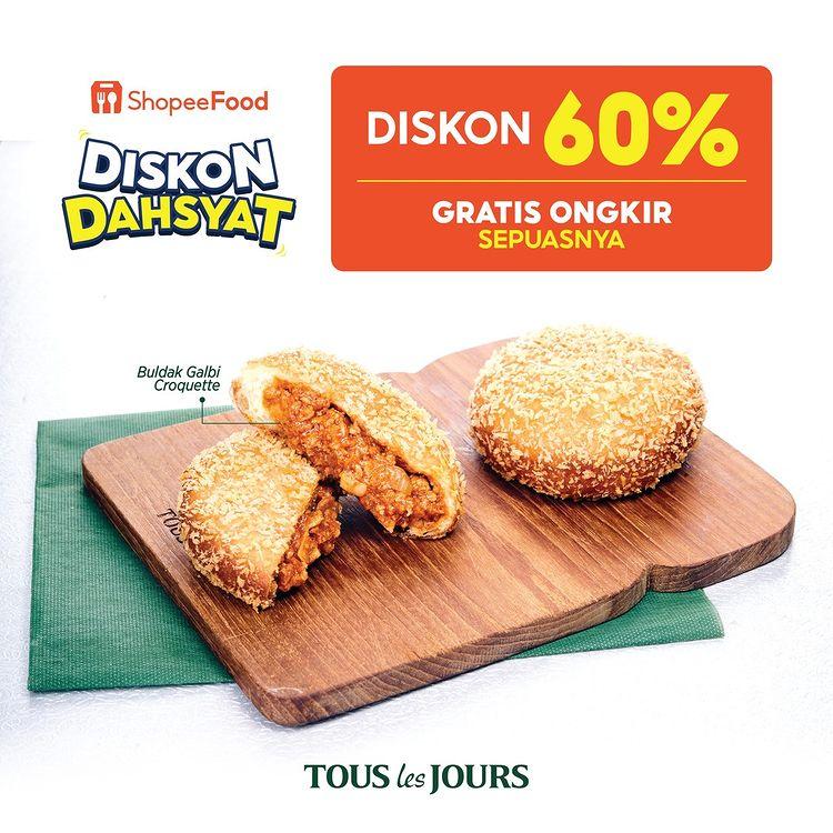 Diskon 60% Free Ongkir