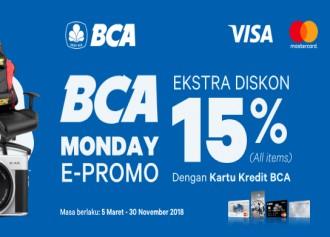 Estra Diskon 15% Semua Produk