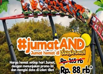 Tiket Masuk CUMA Rp 88,000