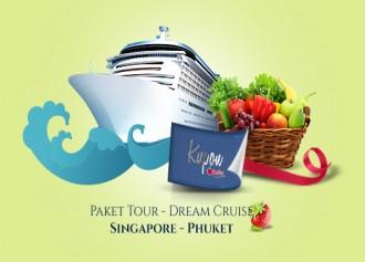 Berhadiah Paket Tour Dream Cruise