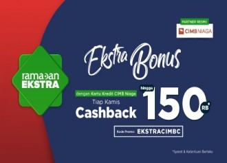 Cashback Hingga Rp 150,000