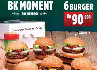6 Burger Rp 90,000