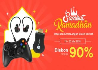 Promo Sambut Ramadhan Diskon hingga 90%