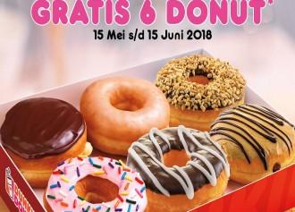 GRATIS 6 Donut