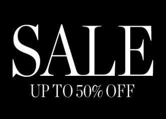 Sale up to 50% Off + Add. disc. up to 10%