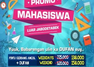 Promo Mahasiswa Luar Jabodetabek