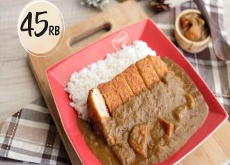 Chicken Katsu Curry CUMA Rp 45,000