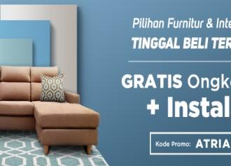 GRATIS Ongkos Kirim + Instalasi