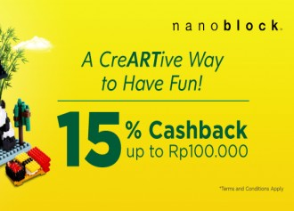 Diskon Nanoblock Hingga Rp 100,000