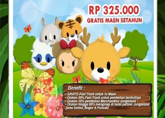 Annual Pass Special Edition CUMA Rp 325,000