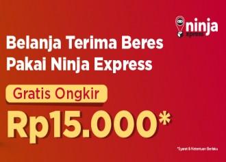 Gratis Ongkir Ninja Xpress Rp 15,000