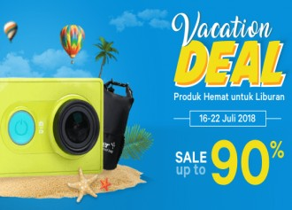 Promo Vacation Deal Sale up to 90%