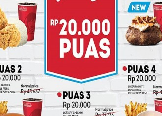 Paket Puas 20K