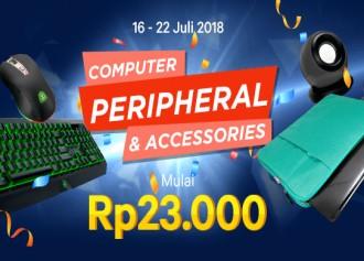 Promo Computer Peripheral & Accessories Mulai Rp 23rb
