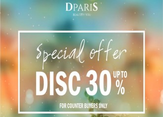 Diskon up to 30%