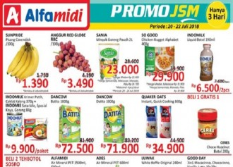 Promo JSM ALFAMIDI
