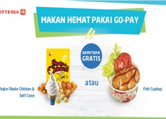 GRATIS Shake-Shake Chicken + Soft Cone atau Fish Cupbap