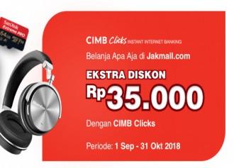 Promo CIMB Clicks Ekstra Diskon Rp35.000