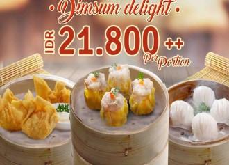 DimSum Delight CUMA Rp 21,800++/ porsi