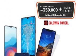 Cashback Hingga Rp 350.000