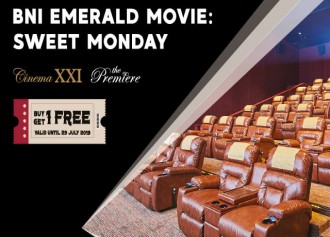 Buy 1 Get 1 Free tiket The Premiere