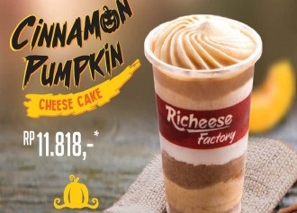 Cinnamon Pumpkin Cheese Cake CUMA 11,818