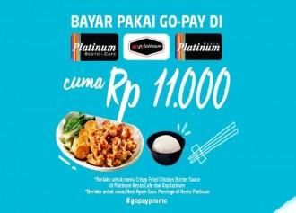 Paket Nasi Ayam Saos Mentega CUMA Rp 11,000