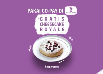 Gratis Cheesecake Royale