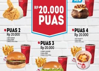 Paket Puas CUMA Rp 20,000